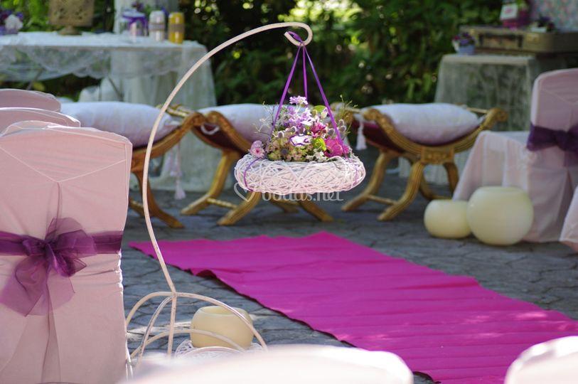 Pasilleros bodas civiles