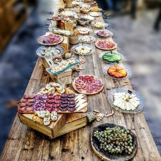 Mesa de comida