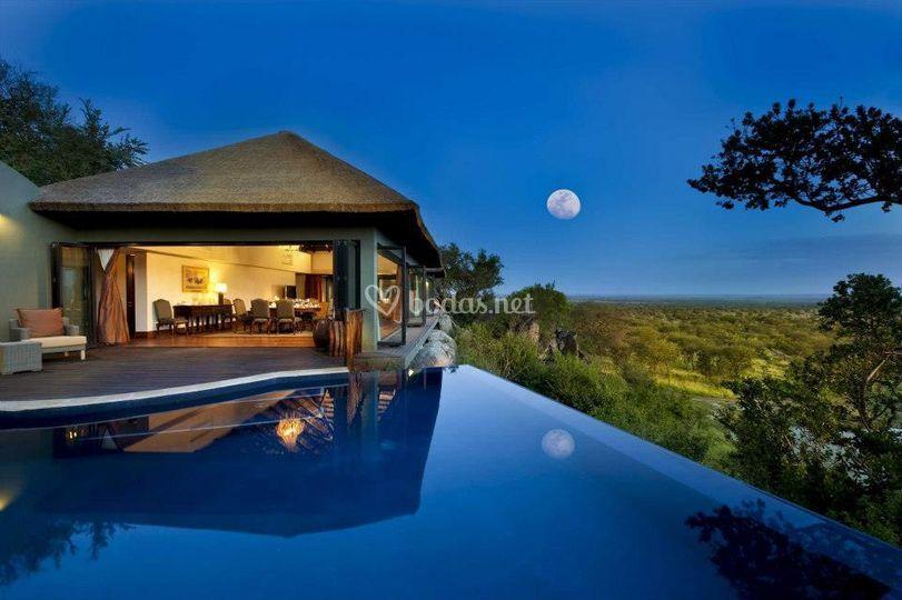 Villa en África
