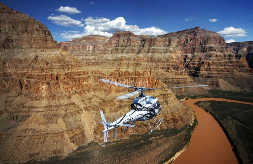 Grand Canyon en helicóptero