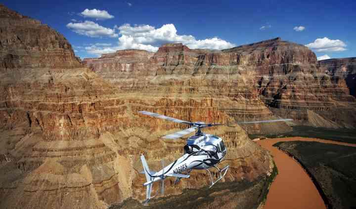 Grand Canyon en helicóptero