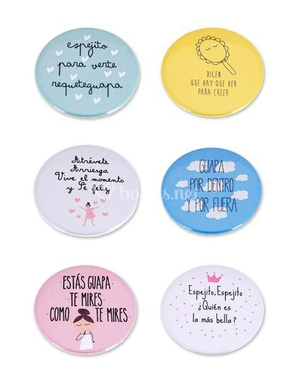 Pack espejos frases bonitas