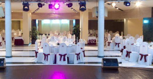 Espacio para el banquete de bodas