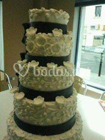 Una tarta de diseño