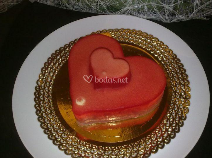 Una tarta llena de amor