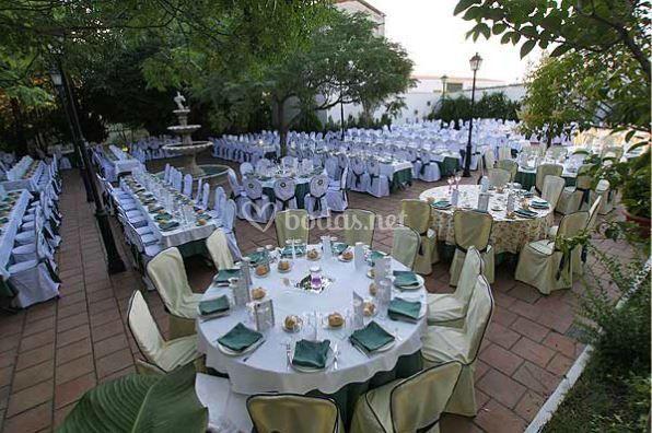 Amplio espacio para bodas