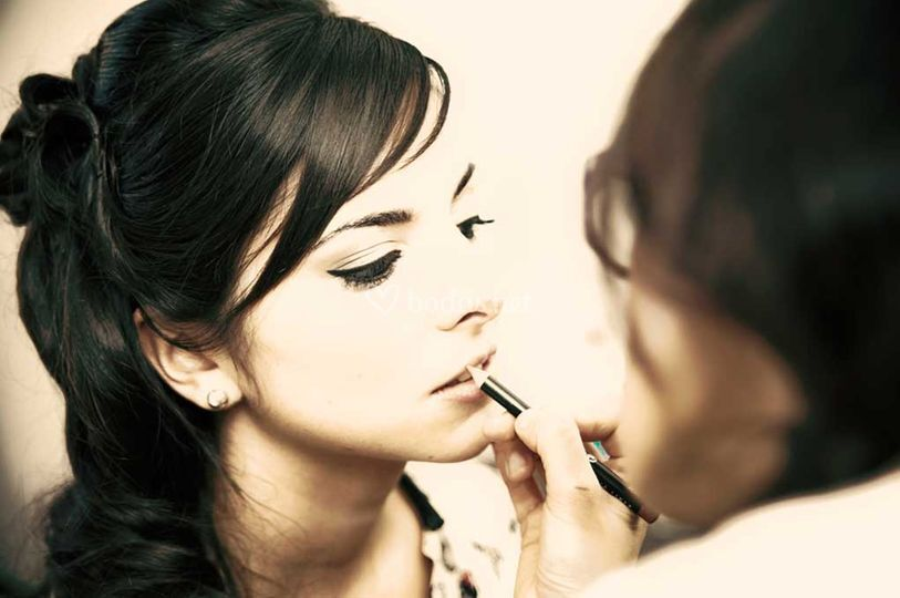 Perfilando labios