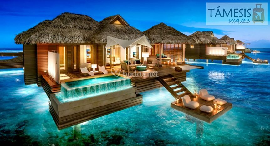 Polinesia - Resort de lujo