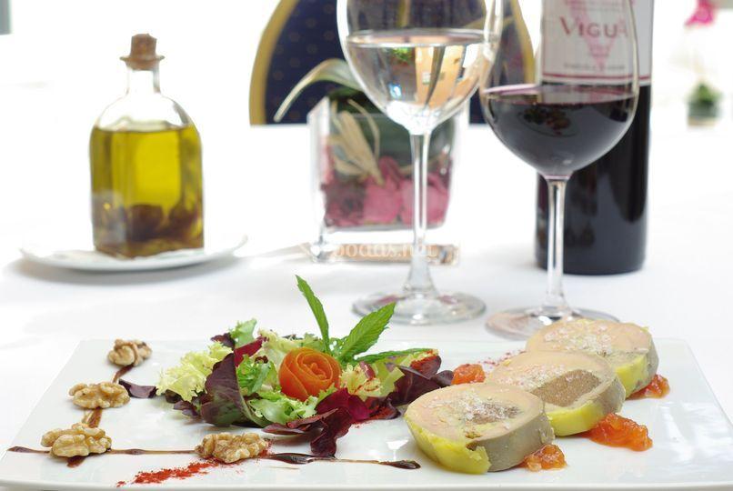 Plato para banquetes