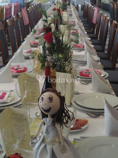 Mesa boda