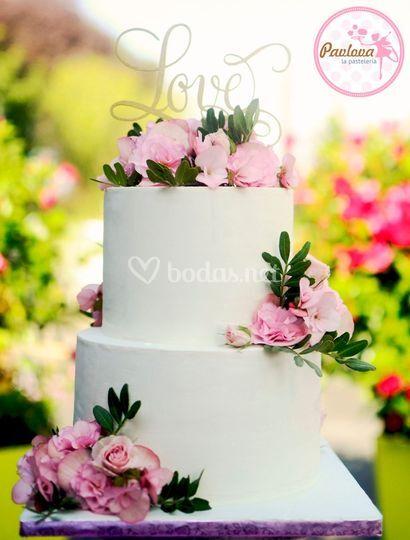 ¿Será esta la tarta de tu boda?