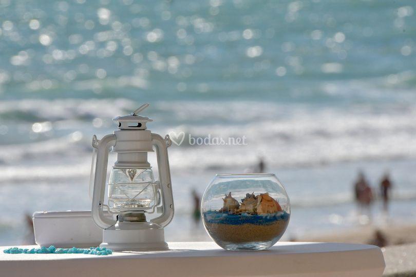 Bodas con vistas al mar