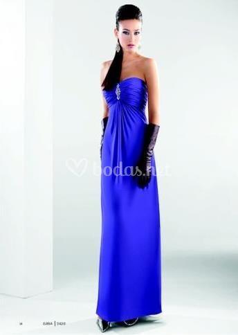 e4b45b1b7 Diseño elegante Azul eléctrico Azul eléctrico Con torerita incorporada Con  torerita incorporada Just Novias Just Novias Vestido corto