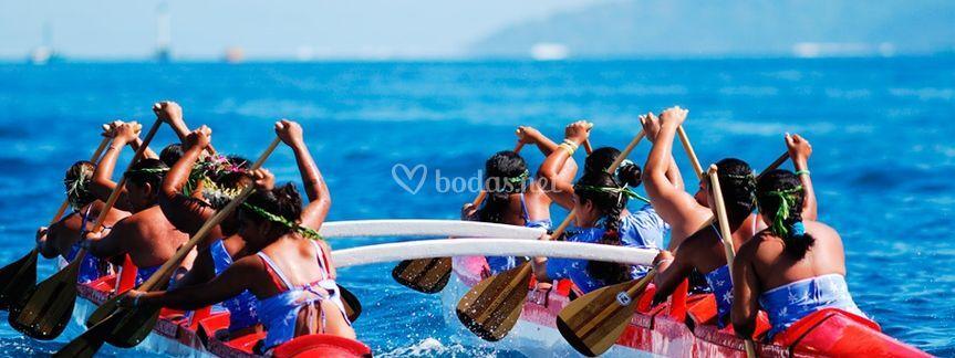 Deporte de Canoa