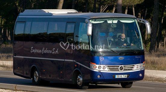 Autobús para 30 pasajeros