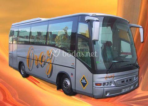 Autobús de 36 plazas