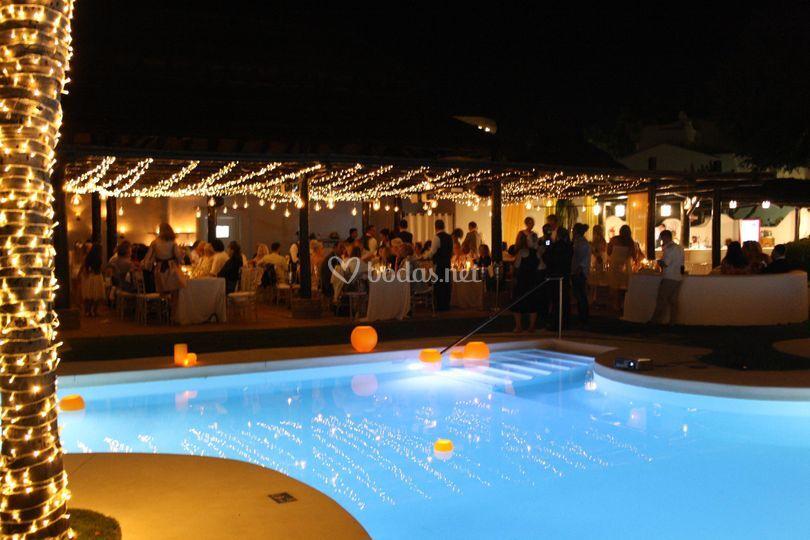 Sea Soul Beach Club noche