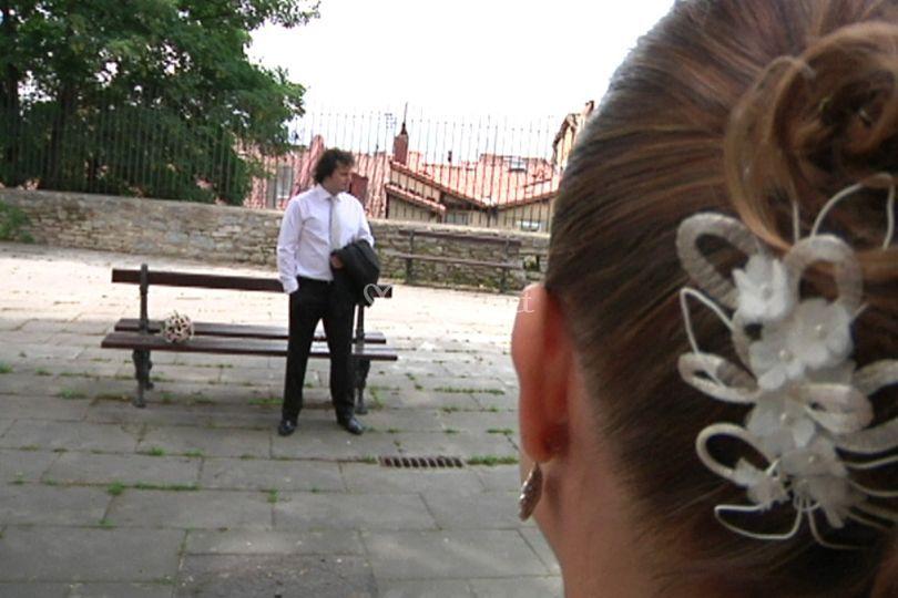 El novio esperando a la novia