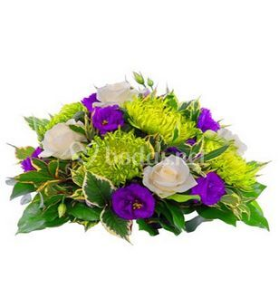 Centro de flores mesa inspiración