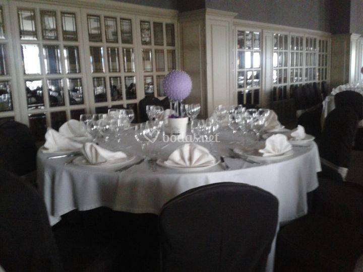 Topiarios para centro de mesa