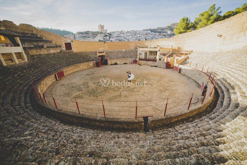 Plaza de toros alcala del juca