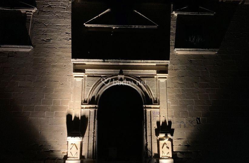 Entrada capilla