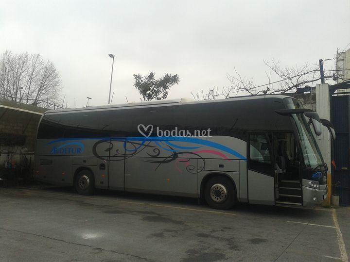 Lateral del autobús
