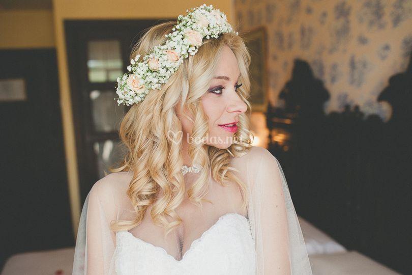 Peluquería de novia