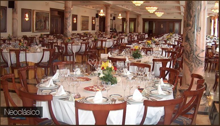 Salón neoclásico para bodas