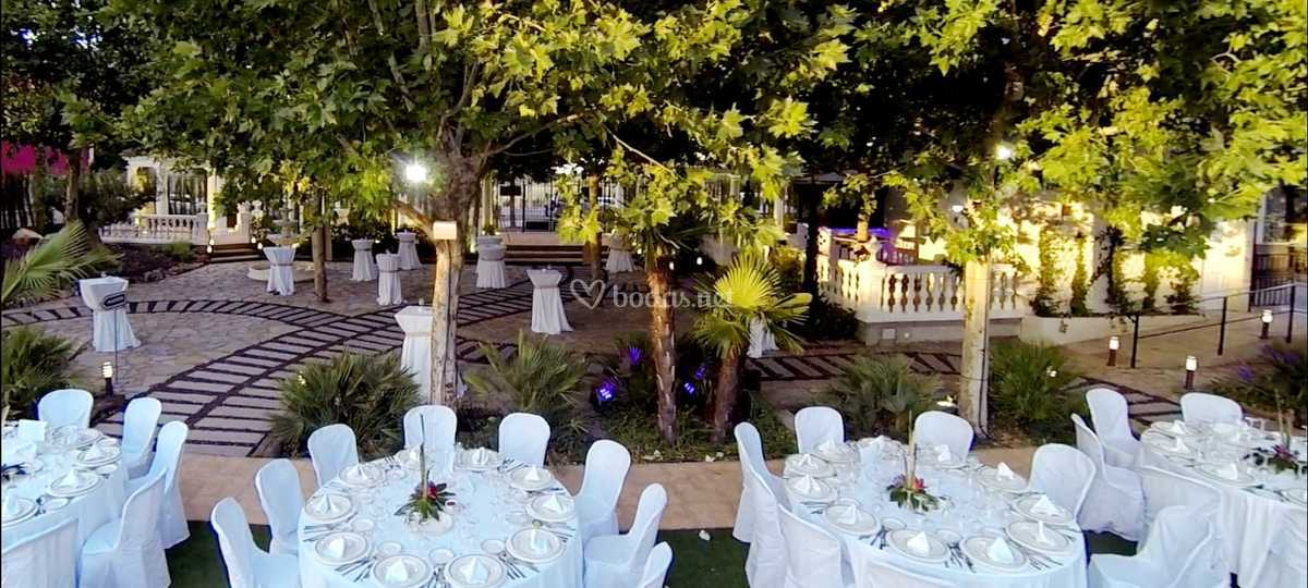 Bodas jardines Montecristo