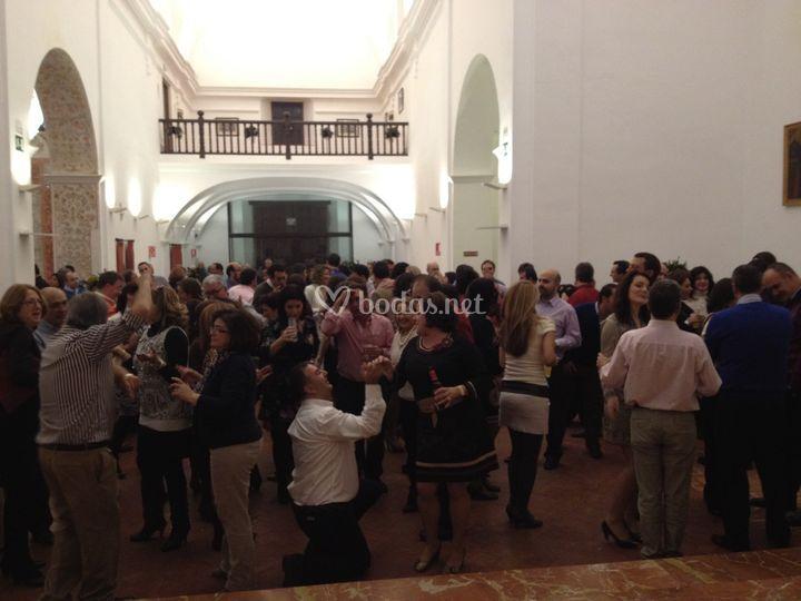 Boda en Iglesia de la Magdalena