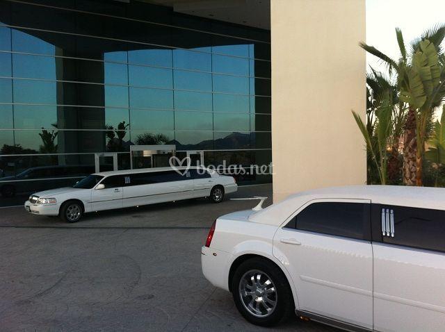 Limusina Chrysler y Linconl
