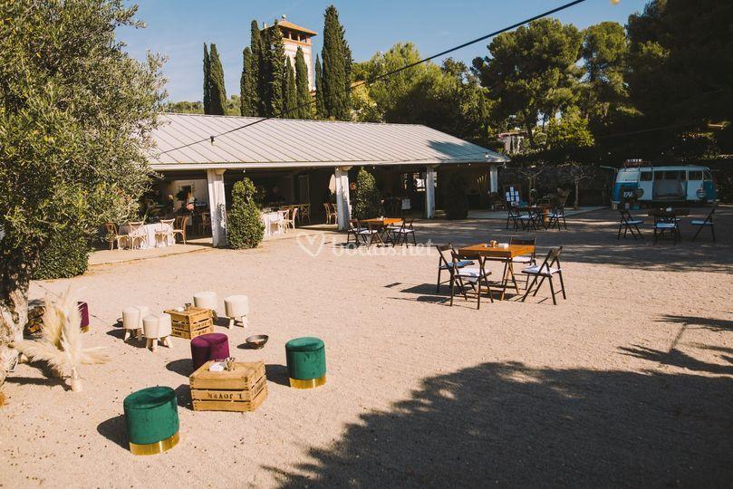 Jardín 2 + Salón banquete