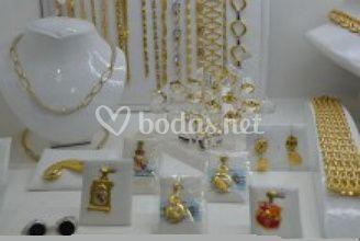 Articulos de oro,plata,acero..