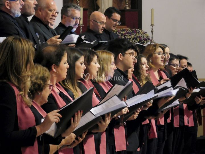 Actuación en iglesia