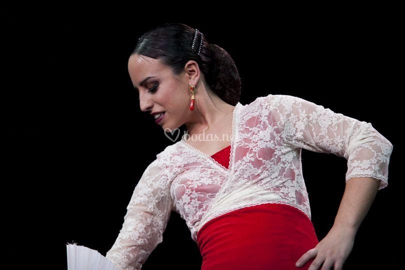 Espectáculo de flamenco