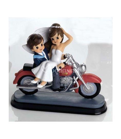 Novios Motocicleta