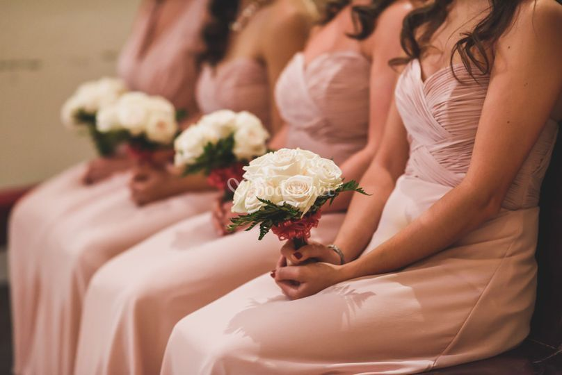 Ramos y bridesmaids