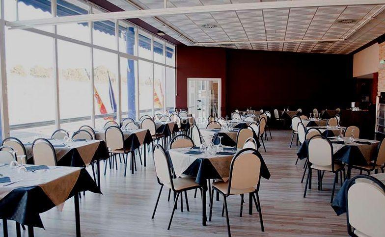 Amplio salón comedor para eventos