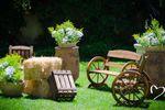 Decoración boda de campo