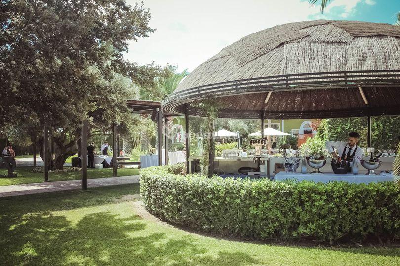 Exterior jardines