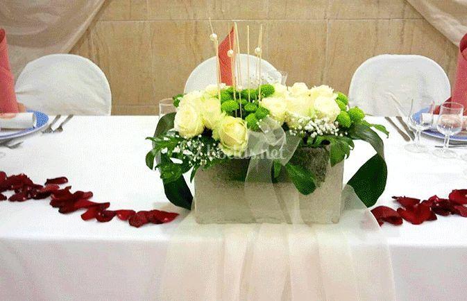 La mesa nupcial