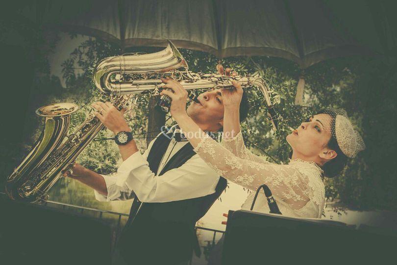Con la novia
