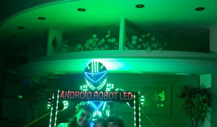 Android Robot Led 1
