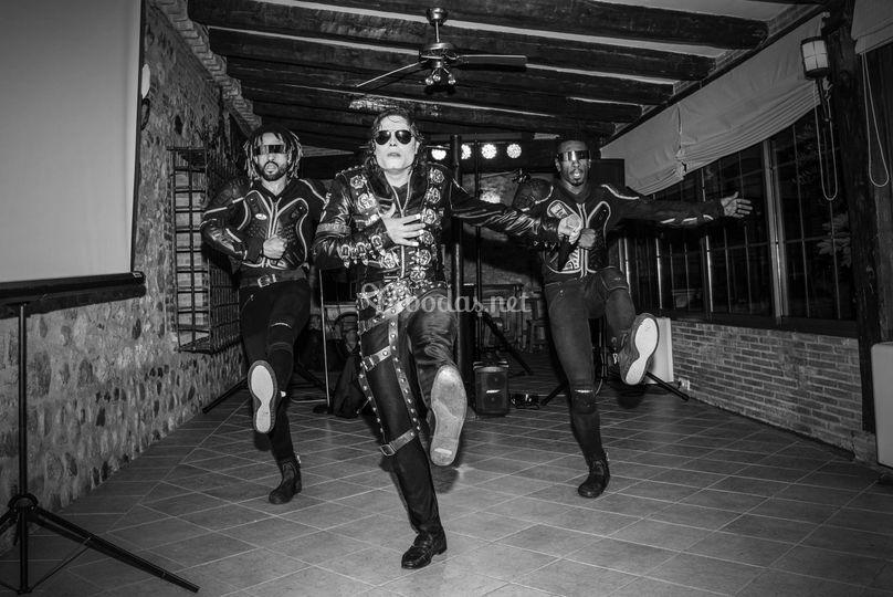 Dani & Rocco & Michael Jackson