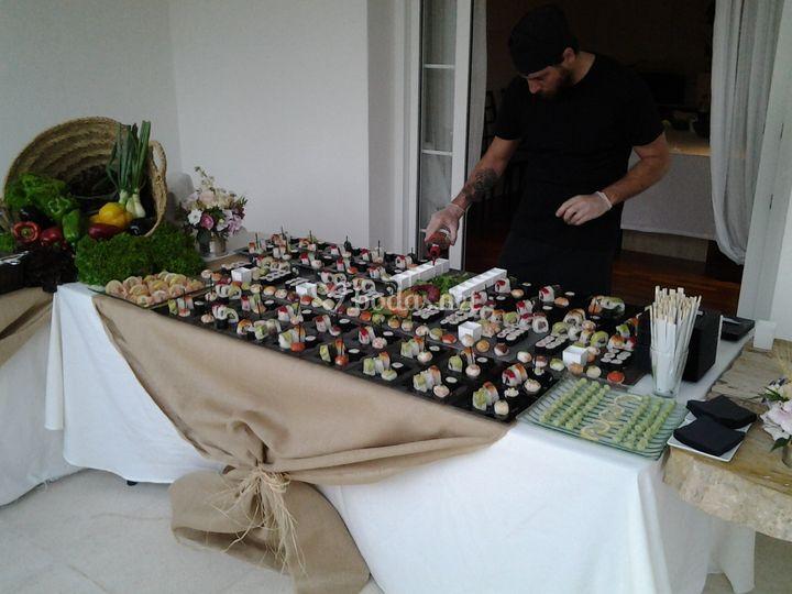 Islas de sushi