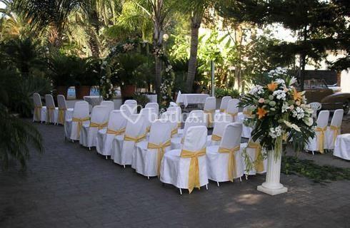 Ceremonia civil en Jardín de Riola