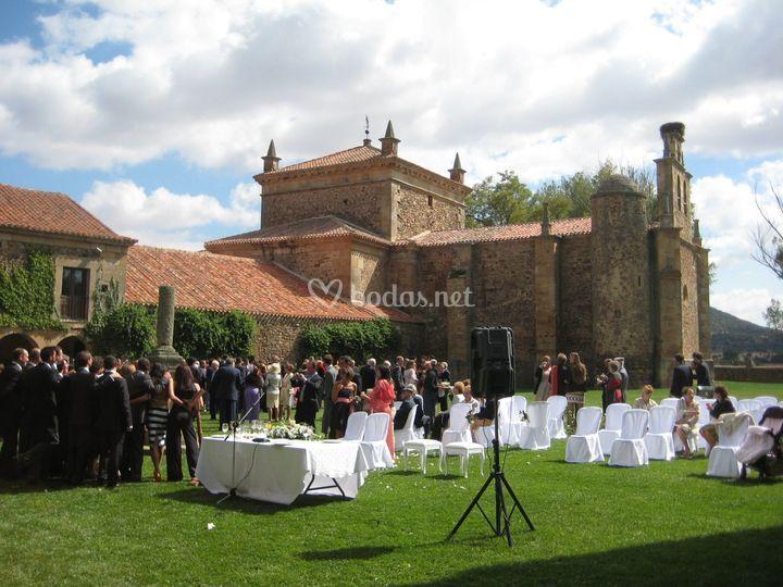 Ceremonias en el jardín