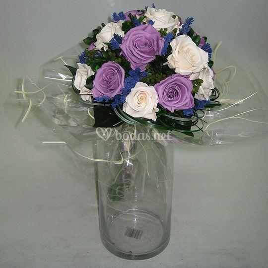 Ramo flores preservado