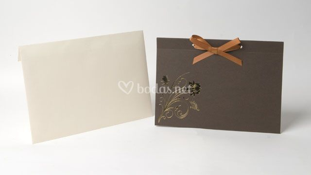Invitación de boda -ref. Ka08a